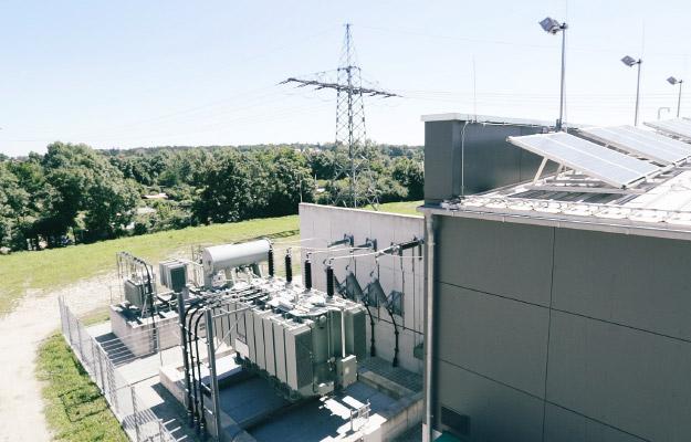 Das Stromkraftwerk der infra