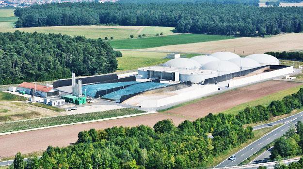 Das Bioenergiezentrum der infra